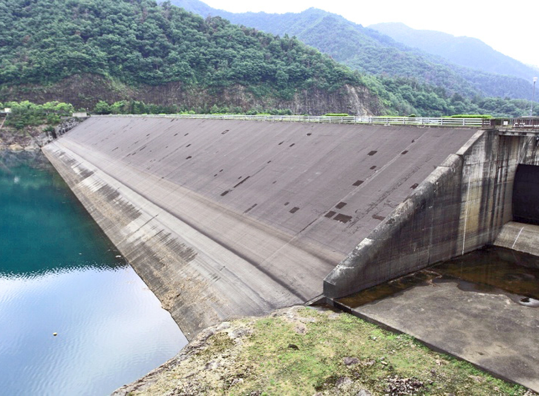 How are artificial dams 98